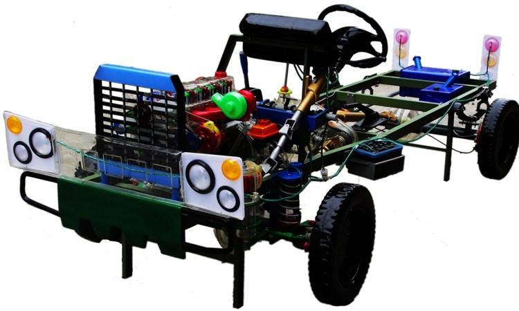 (7)安装电路:本品电路原理和实际勇士车有些