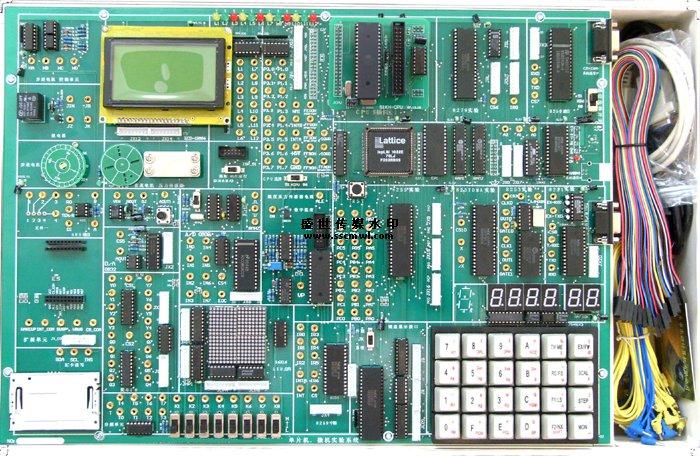 (6)8255 pa口控制pb口; (7)8255控制交通灯; (8)简单i/o扩展实验; (9